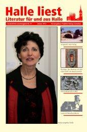 Januar 2012 - Halle liest - Projekte-Verlag Cornelius