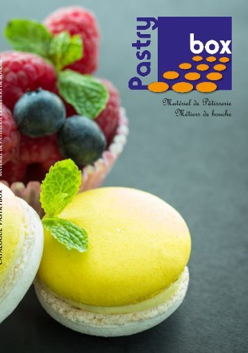 Catalogue produits PASTRYBOX_A5