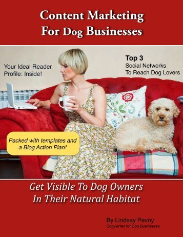 Content Marketing For Dog Businesses