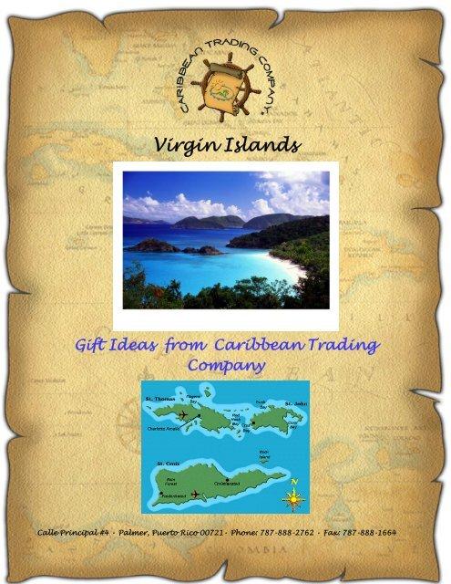 Virgin Islands Gift Ideas From Caribbean Trading Company