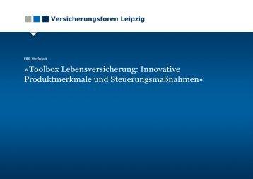 T O O L B O X L V - Versicherungsforen Leipzig