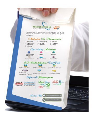 PharmaExpressrx.com - Buy Generic Medications Online