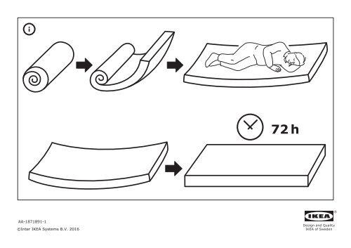 Poltrona Letto Ikea Lycksele.Ikea Lycksele Lovas Poltrona Letto S59134154 Istruzioni Montaggio