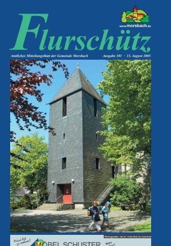 101. Ausgabe vom 13.08.2005 - Gemeinde Morsbach