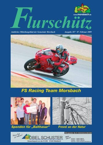 FS Racing Team Morsbach - Gemeinde Morsbach
