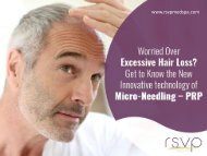 PRP Hair Restoration - Innovative Micro-needling Technology