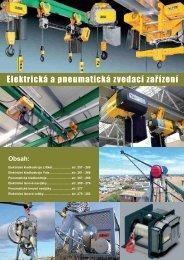 Elektrická a pneumatická zvedací zařízení