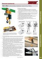 Elektrická a pneumatická zvedací zařízení - Page 3