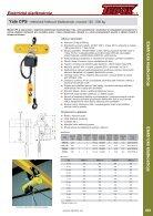 Elektrická a pneumatická zvedací zařízení - Page 7
