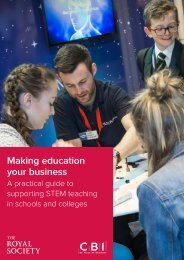 Making education your business