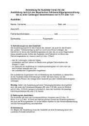Anmeldung für Ausbilder /innen für die Ausbildung nach § 4 der ...