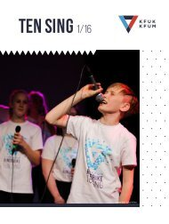 Ten Sing-innstikk 1/2016