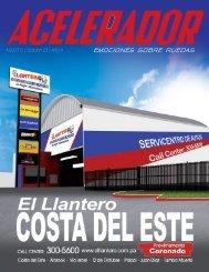 Revista Acelerador – Mes de Agosto, Edición 23