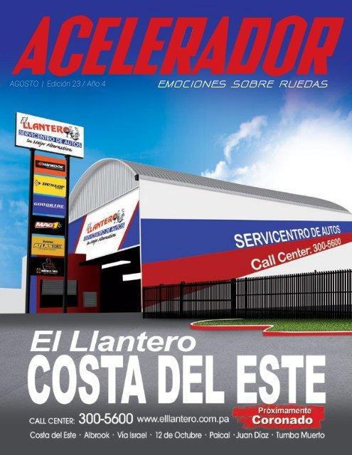 Revista Acelerador Mes De Agosto Edición 23