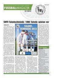 SHFV-Talentschmiede - Schleswig-Holsteinischer Fussballverband eV