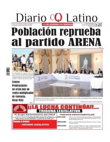 Edición 26 de Mayo de 2016