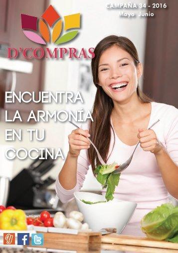 Catálogo D'Compras Mayo 2016
