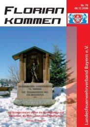 Ausgabe Nummer 78 - Landesfeuerwehrverband Bayern