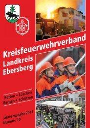 Magazin des KFV Ebersberg 6/2011 - Kreisbrandinspektion Ebersberg