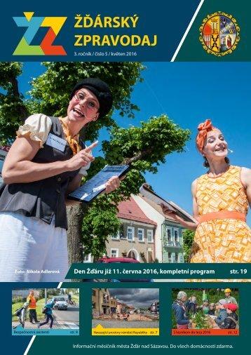 Den Žďáru již 11 června 2016 kompletní program str 19