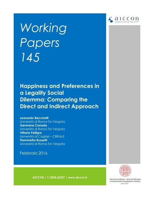 Working Papers 145