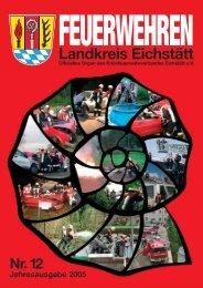 FEUERWEHREN Landkreis Eichstätt - Kreisfeuerwehrverband ...