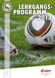 DFB-Lizenz - Schleswig-Holsteinischer Fussballverband eV