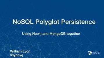 NoSQL Polyglot Persistence