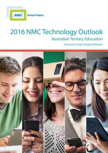 2016 NMC Technology Outlook for Australian Tertiary Education