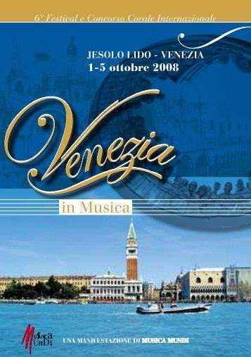 Jesolo - Venezia, 1 - 5 ottobre 2008 - interkultur.com