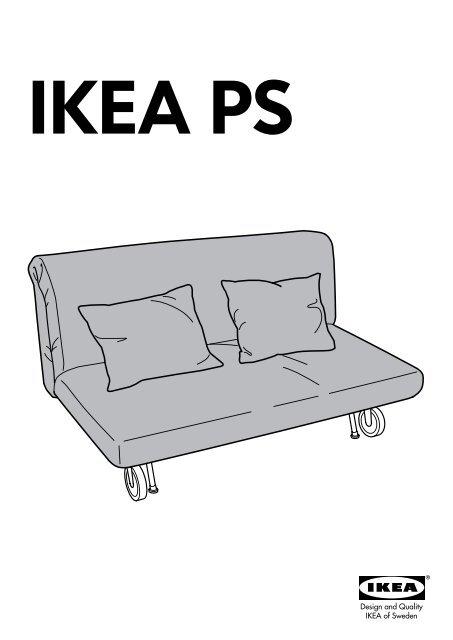 Ikea Ikea Ps Fodera Per Divano Letto A 2 Posti 20184786