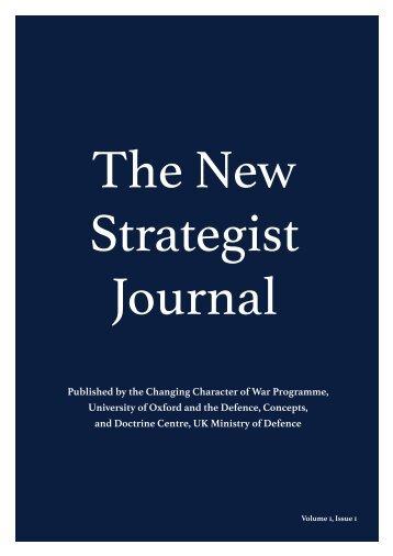 The New Strategist Journal