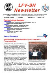 Anhang öffnen - Landesfeuerwehrverband Schleswig-Holstein
