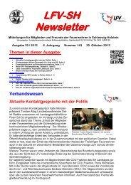 Jetzt vorbestellen: Feuerwehr-Jahrbuch 2012