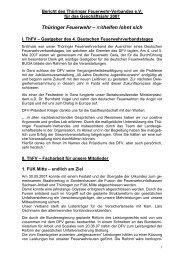 mithelfen lohnt sich - Thüringer Feuerwehrverband e.V.
