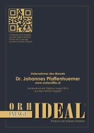 Titelstory Dr Pfaffenhuemer