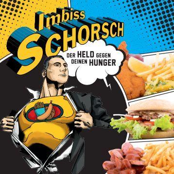 Speisekarte Imbiss Schorsch - Imbissstand in Vahrn bei Brixen/Südtirol
