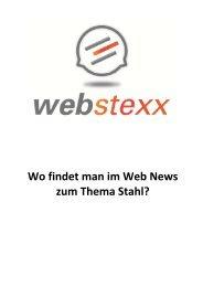 Wo findet man im Web News zum Thema Stahl?
