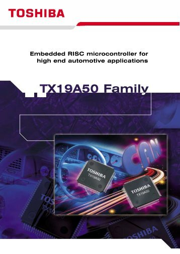 Embedded RISC microcontroller for high end automotive applications
