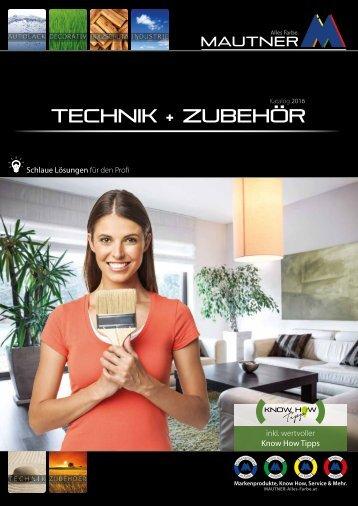 TECHNIK & ZUBEHOER