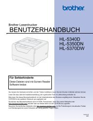 Handbuch Brother HL-5350DN