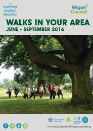 WALKS IN YOUR AREA
