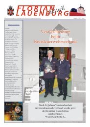 Verabschiedung beim Kreisfeuerwehrverband - KFV Herzogtum ...