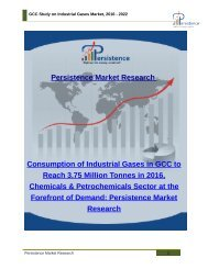 GCC Study on Industrial Gases Market, 2016 - 2022