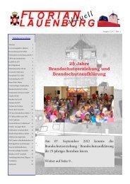 Florian aktuell 3-2012 - KFV Herzogtum Lauenburg