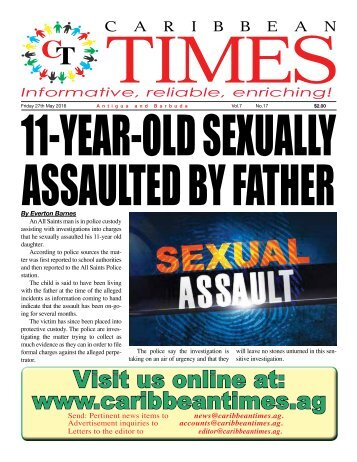 Caribbean Times 17th Issue - Friday 27th May 2016