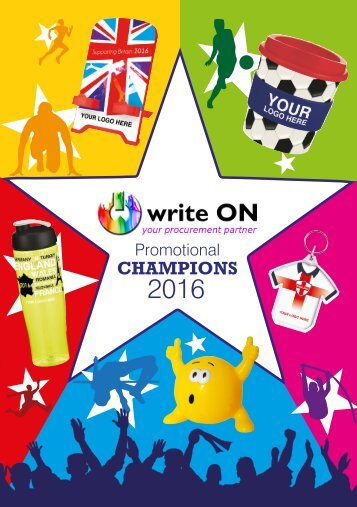 write ON Promotional Champions 2016