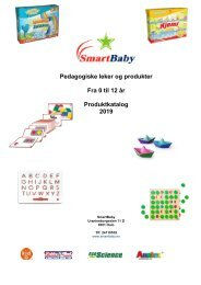 Produkt katalog SmartBaby (Pedagogiske leker) 2019 (NO)
