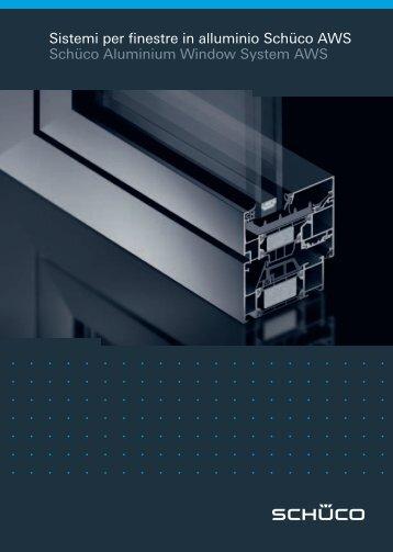 Sistemi per finestre in alluminio Schüco AWS